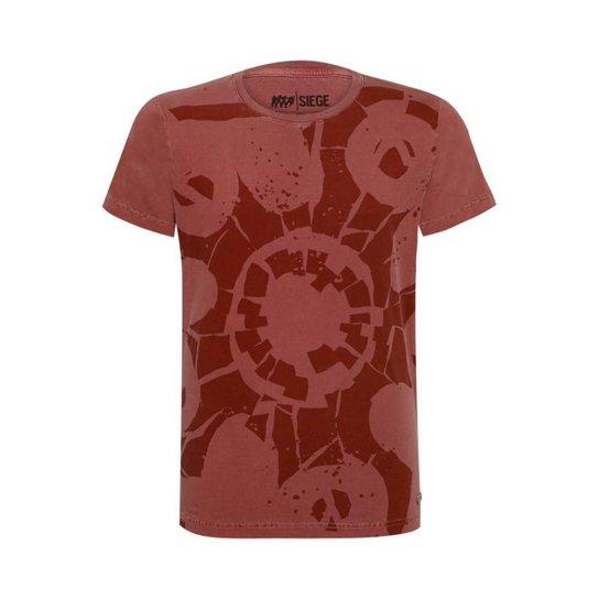 Camiseta Operadora Hibana R6 Siege Ubisoft - Vermelho