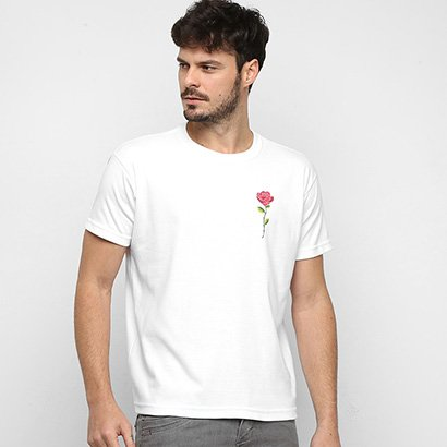 Camiseta Osklen Skate Rose Color Masculina - Masculino
