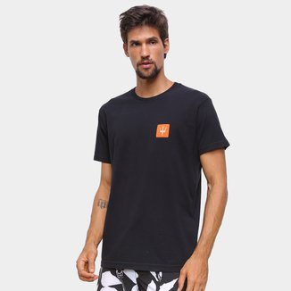 Camiseta Osklen Vintage Tridente Box Masculina