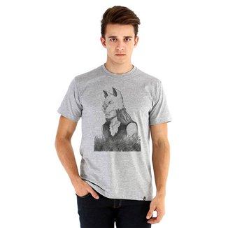 Camiseta Ouroboros manga curta Guerreiro Animali