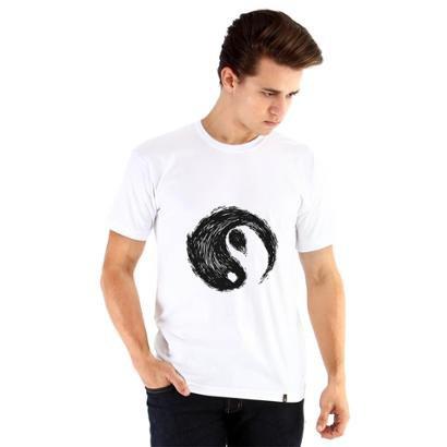 Camiseta Ouroboros Yin-Yang Masculina