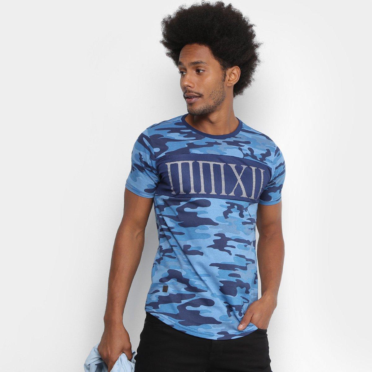 Camiseta Overcore Camuflada Tela Masculina - Compre Agora  b9c897194bf9e