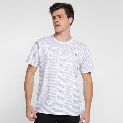 Camiseta Overcore Listras Masculina