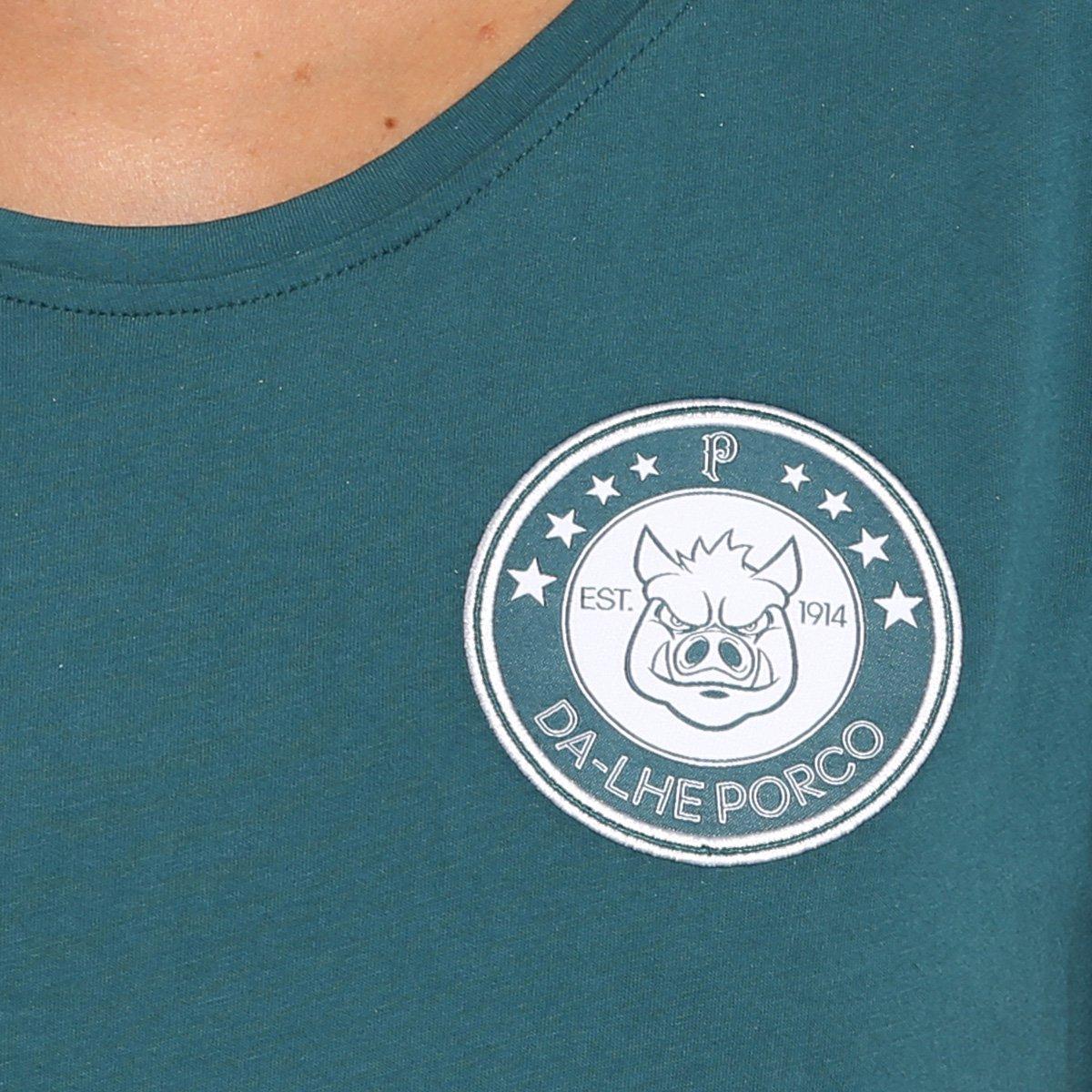 Verde 3Stripes Camiseta Palmeiras Palmeiras Feminina Camiseta Adidas 4xq0xwpYT