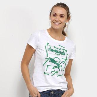 Camiseta Palmeiras Graphic Puma Feminina