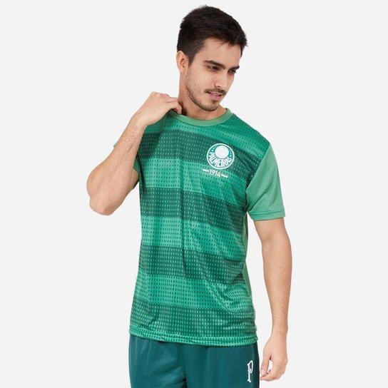 Camiseta Palmeiras SPR Classic Masculino - Verde