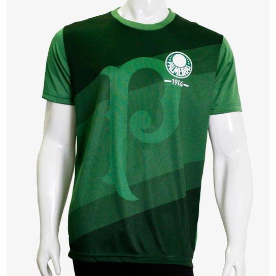 Camiseta Palmeiras SPR Masculino - Verde
