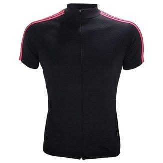 Camiseta para ciclismo com friso na manga