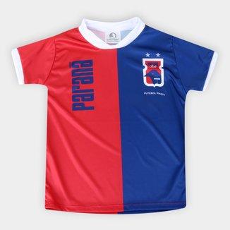 Camiseta Paraná Infantil Torcida Baby Sublimada