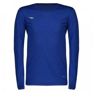 Camiseta Penalty Matis M/L Azul Marinho Juvenil
