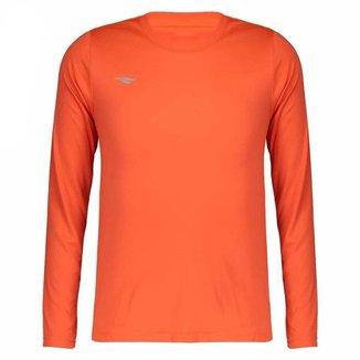 Camiseta Penalty Matis M/L Laranja Juvenil