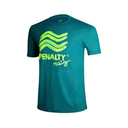 Camiseta Penalty Raiz Brush Penalty - Verde escuro
