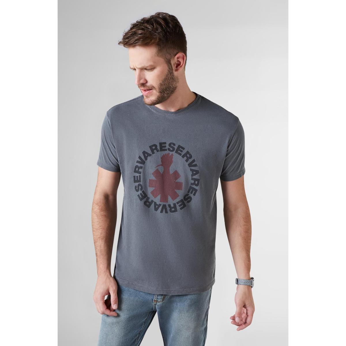 784e33abcb Camiseta Pica-Pau Asterisco Reserva Masculina - Preto