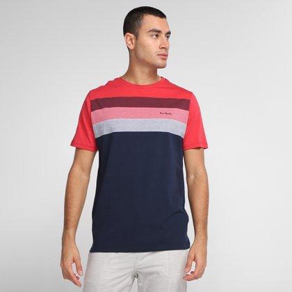 Camiseta Pierre Cardin Multi Color Masculina