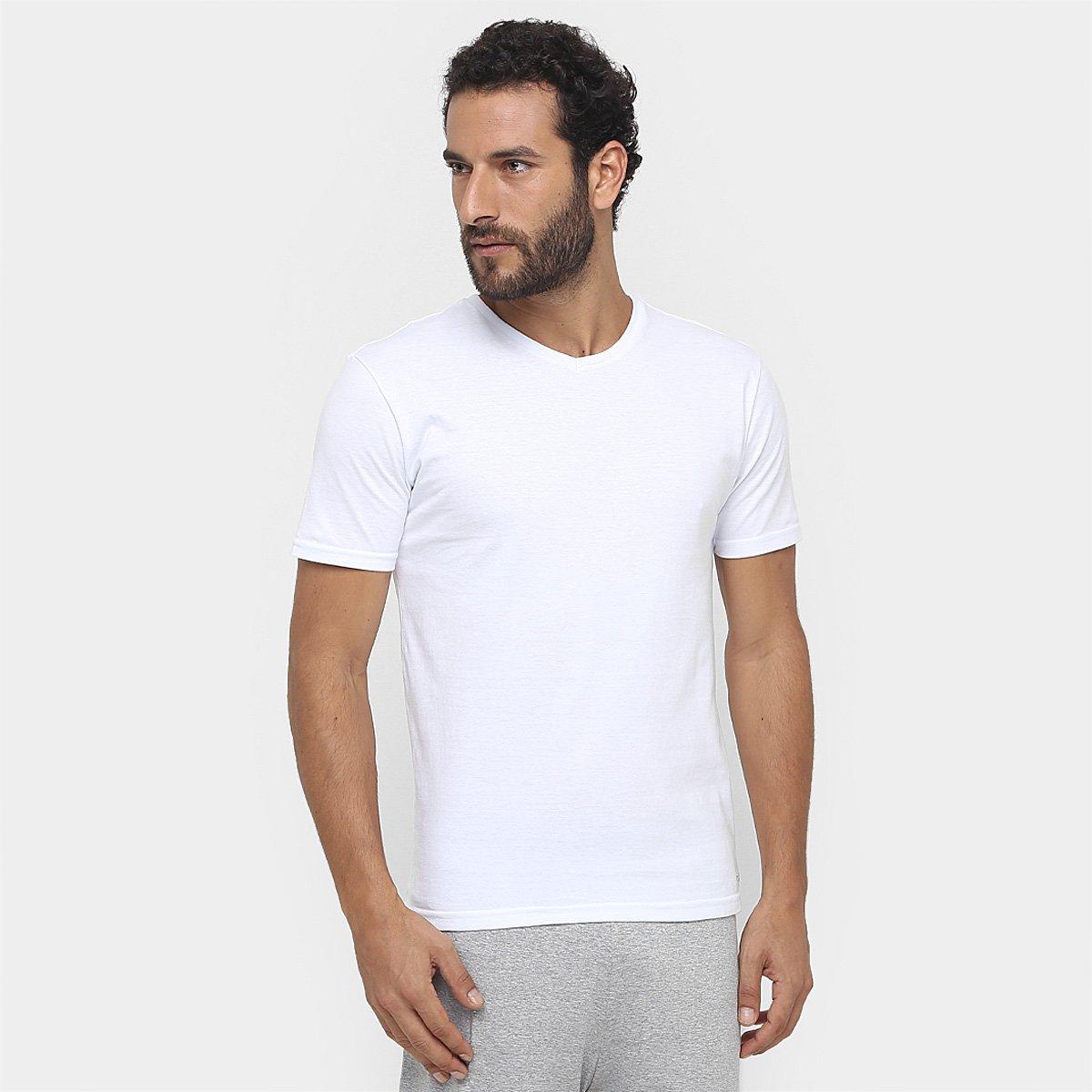 c05c5905e725d Camiseta Pijama Calvin Klein Gola V c  2 peças - Compre Agora