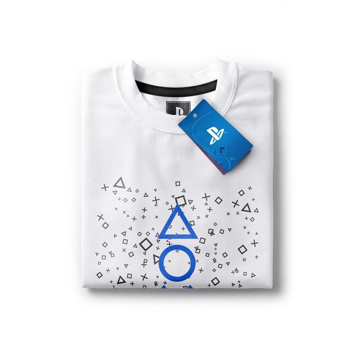 d0b92af3d Camiseta Playstation Fizz Symbols Masculina - Branco - Compre Agora ...