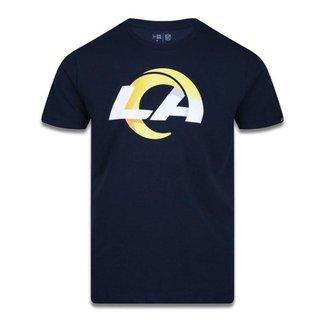 Camiseta Plus Size NFL Los Angeles Rams - New Era
