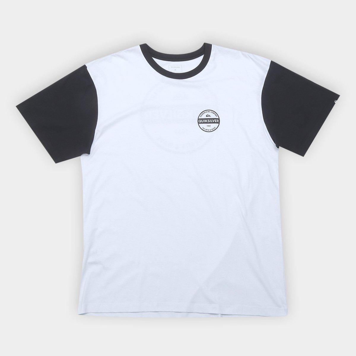 5af08559b0017 Camiseta Plus Size Quiksilver Basic Masculina - Compre Agora