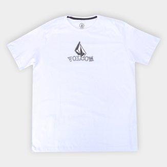 Camiseta Plus Size Volcom Supple Masculina