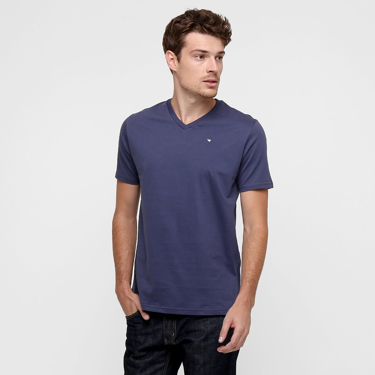 b8707d26d6 Camiseta Polo Concept Gola V Básica - Compre Agora