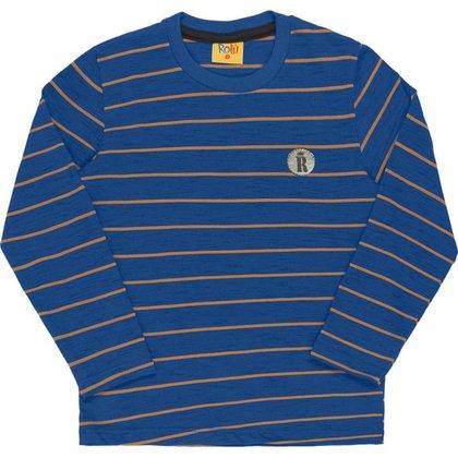 Camiseta Polo em Meia Malha