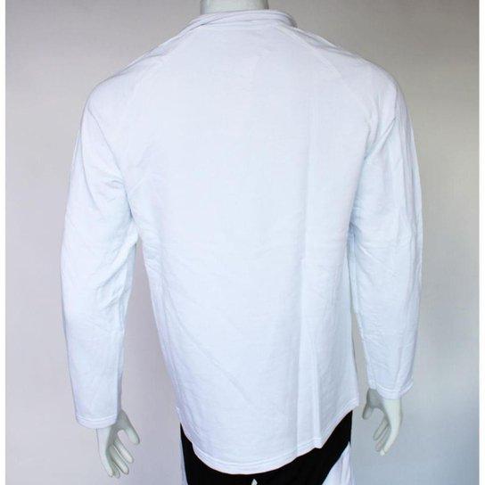 Camiseta Polo Kappa Biazi Masculino - Branco
