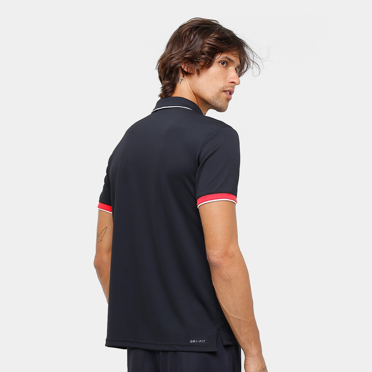 Camiseta Polo Nike Team Masculina  Camiseta Polo Nike Team Masculina ... a689d33ac2276
