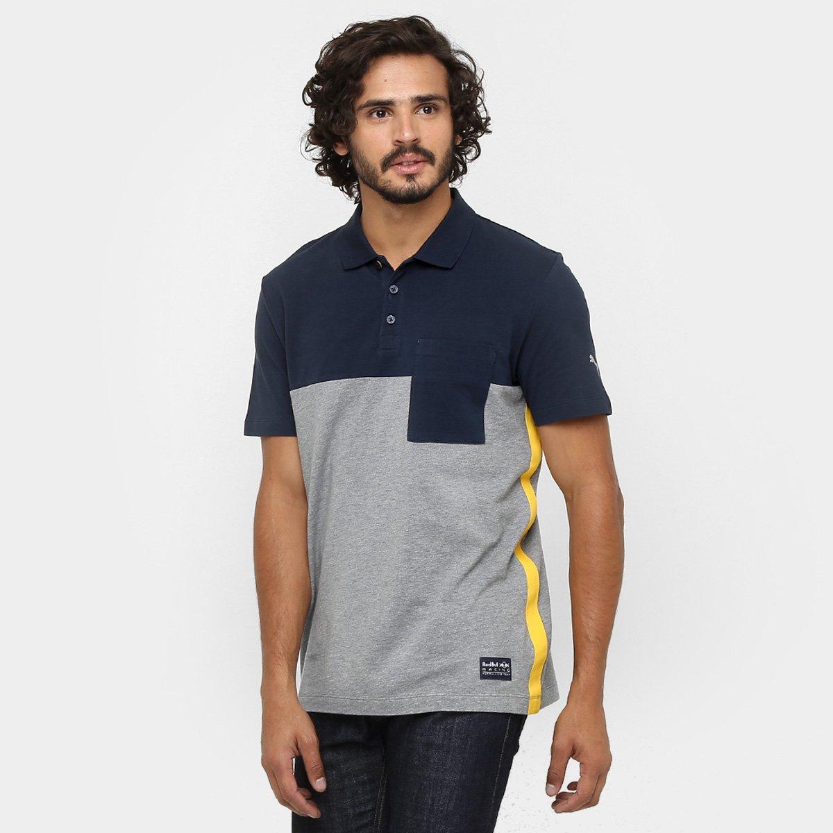 1b4800c9a1f42 Camiseta Pólo Puma Infiniti Red Bull Racing - Compre Agora