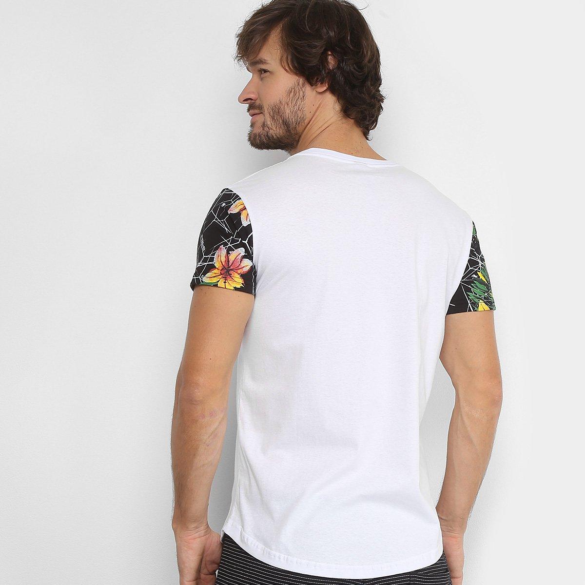 Camiseta Polo RG 518 Manga Estampada Logo Masculina - Compre Agora ... f70218c87d4d8