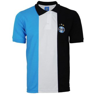 Camiseta Polo Time Grêmio Masculina Futebol Confortável