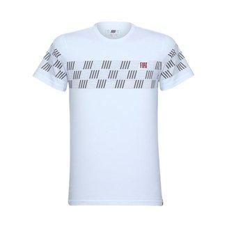 Camiseta Pop Masculina fiatwear Branco