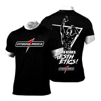 Camiseta Preta Dry Fit Esportiva de Academia - Zyzz - Integralmédica
