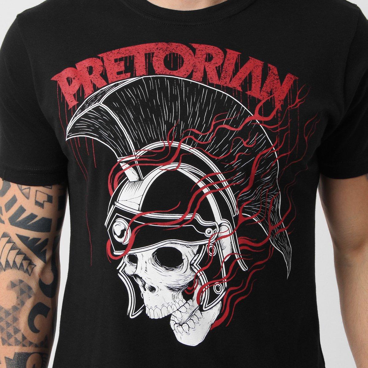 5d3148c423 ... Camiseta Pretorian Caveira  Camiseta Pretorian Caveira