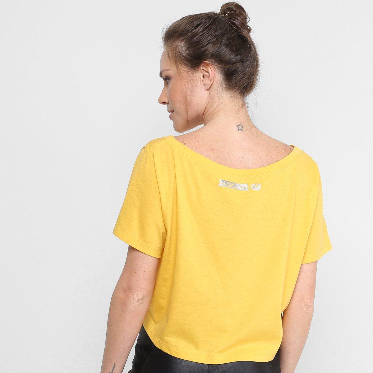 Amarelo Pretorian Camiseta Camiseta Pretorian Lutador Feminina En4q0OFFx