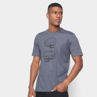 Camiseta Pretorian Masculina Estampa Frontal Mão Confortável
