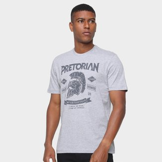 Camiseta Pretorian Masculina Estampada Manga Curta Conforto