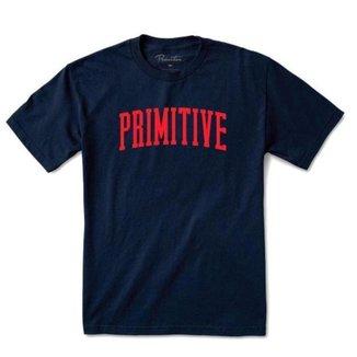 Camiseta Primitive Collegiate Arch Outline Navy