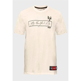 Camiseta Prison The Signature Off White