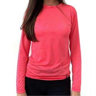 Camiseta Proteção Solar Dry Living UPF30+ ML Conquista Feminina