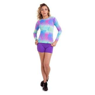 Camiseta Proteção UV 50+ Eletric Km10 Sports Feminina