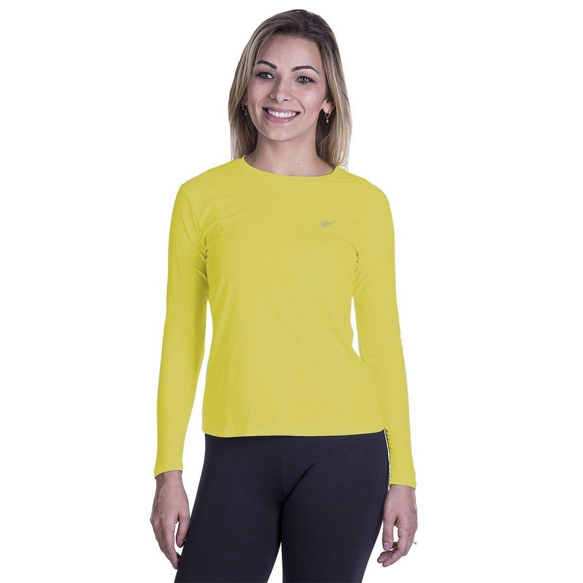 Amarelo Camiseta Proteção UV Camiseta Camiseta UV Proteção UV Camiseta Camiseta Amarelo Amarelo UV Proteção Amarelo Proteção PzqUzwd