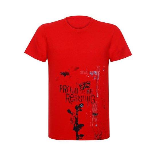 Camiseta Proud To Be Resisting  Watch Dogs Ubisoft - Vermelho