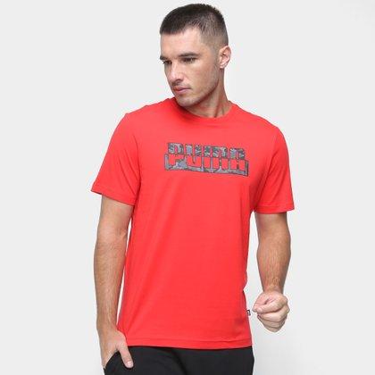 Camiseta Puma Core Camo Masculina