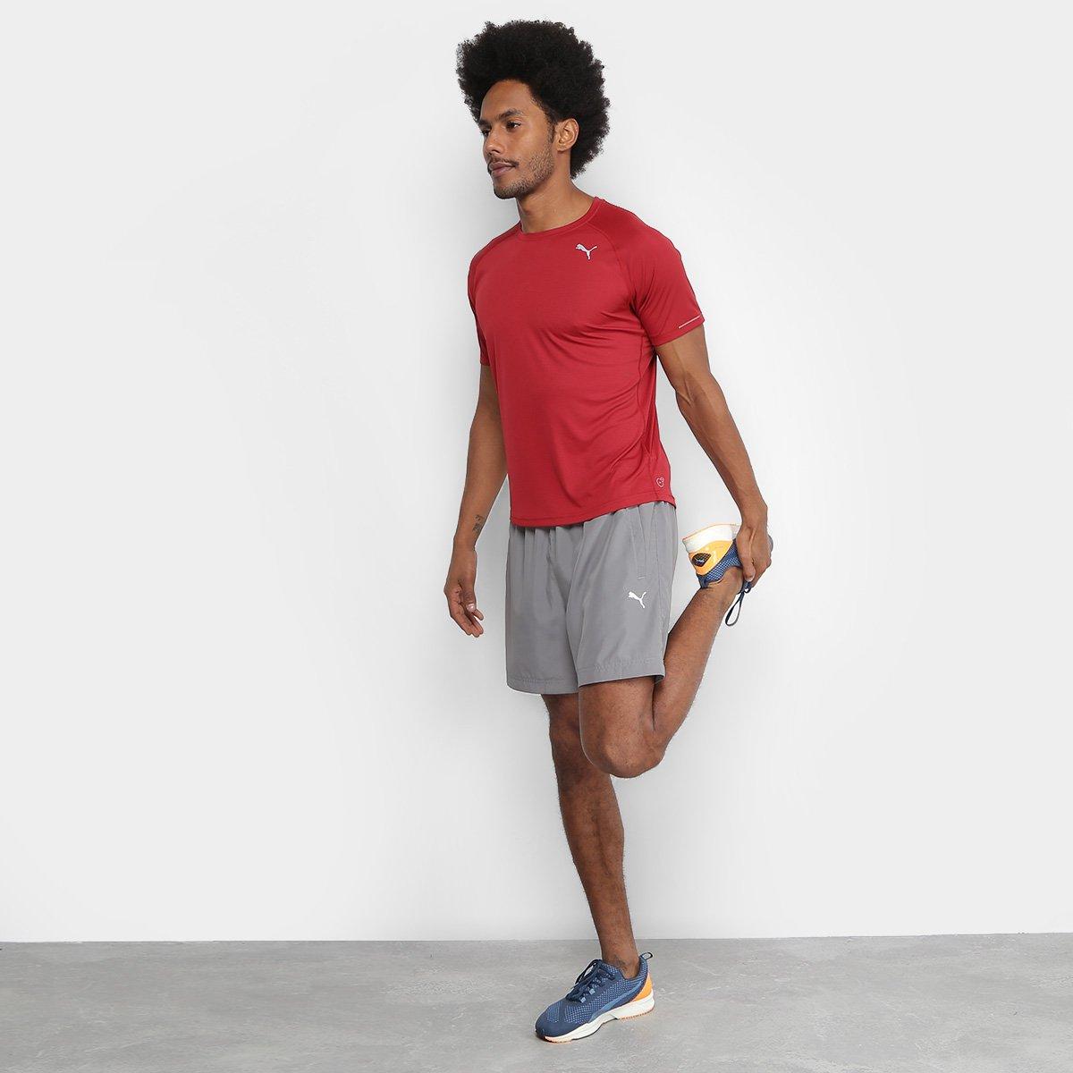 5df70e0ea5 Camiseta Puma Core-Run Masculina - Compre Agora