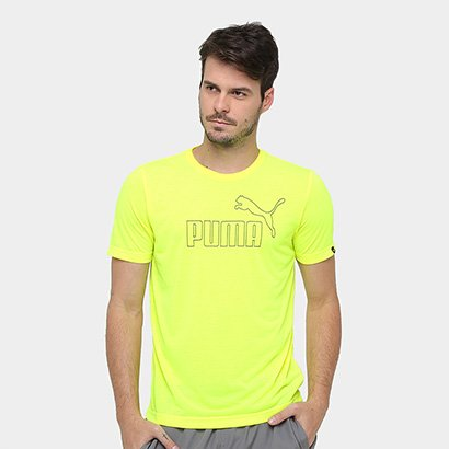Camiseta Puma ESS Poly No.1 Logo Masculina