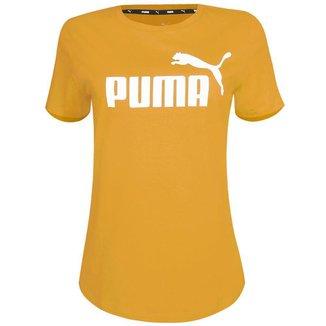 Camiseta Puma Feminina Ess Logo Tee