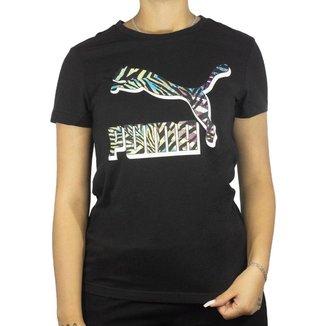 Camiseta Puma Fit Graphic Feminino