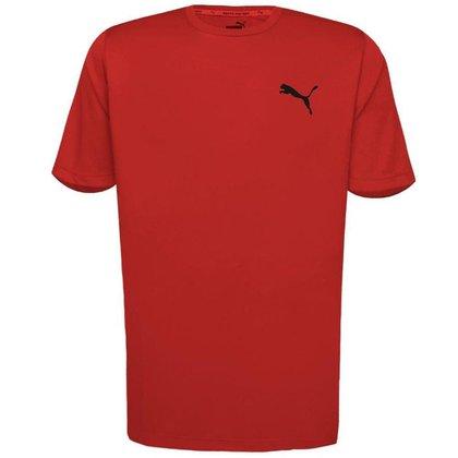 Camiseta Puma Masculina Active Small Logo Tee
