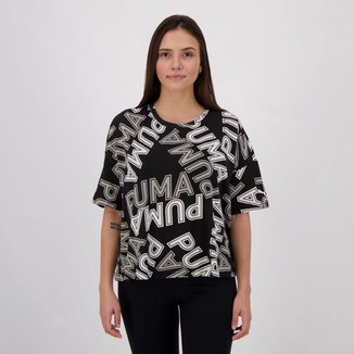 Camiseta Puma Modern Sports Aop Fashion Feminina