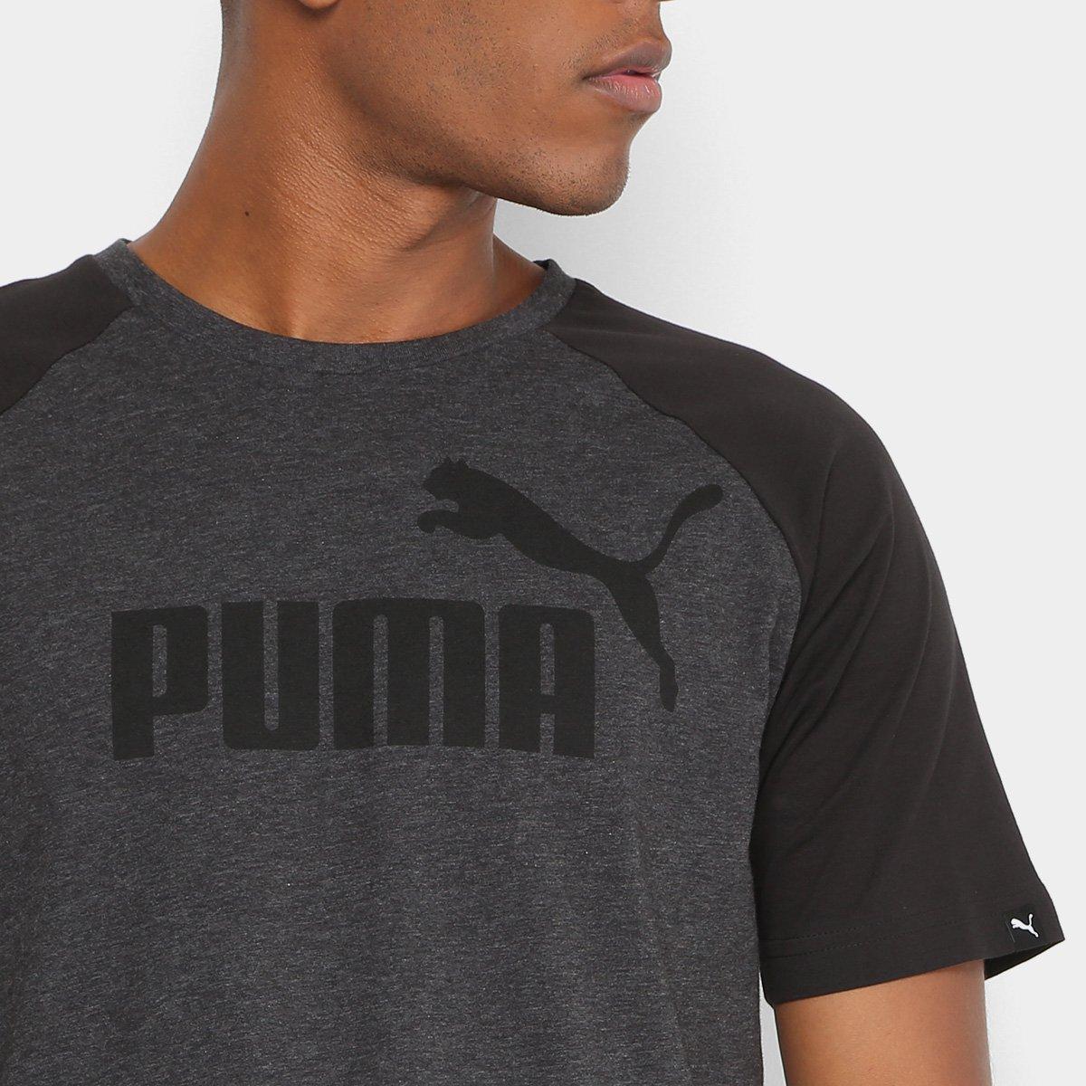 5b33967d1d Camiseta Puma No.1 Logo Raglan Masculina - Compre Agora
